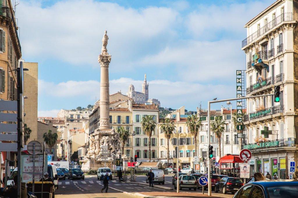 Place Castellane avec Fontaine