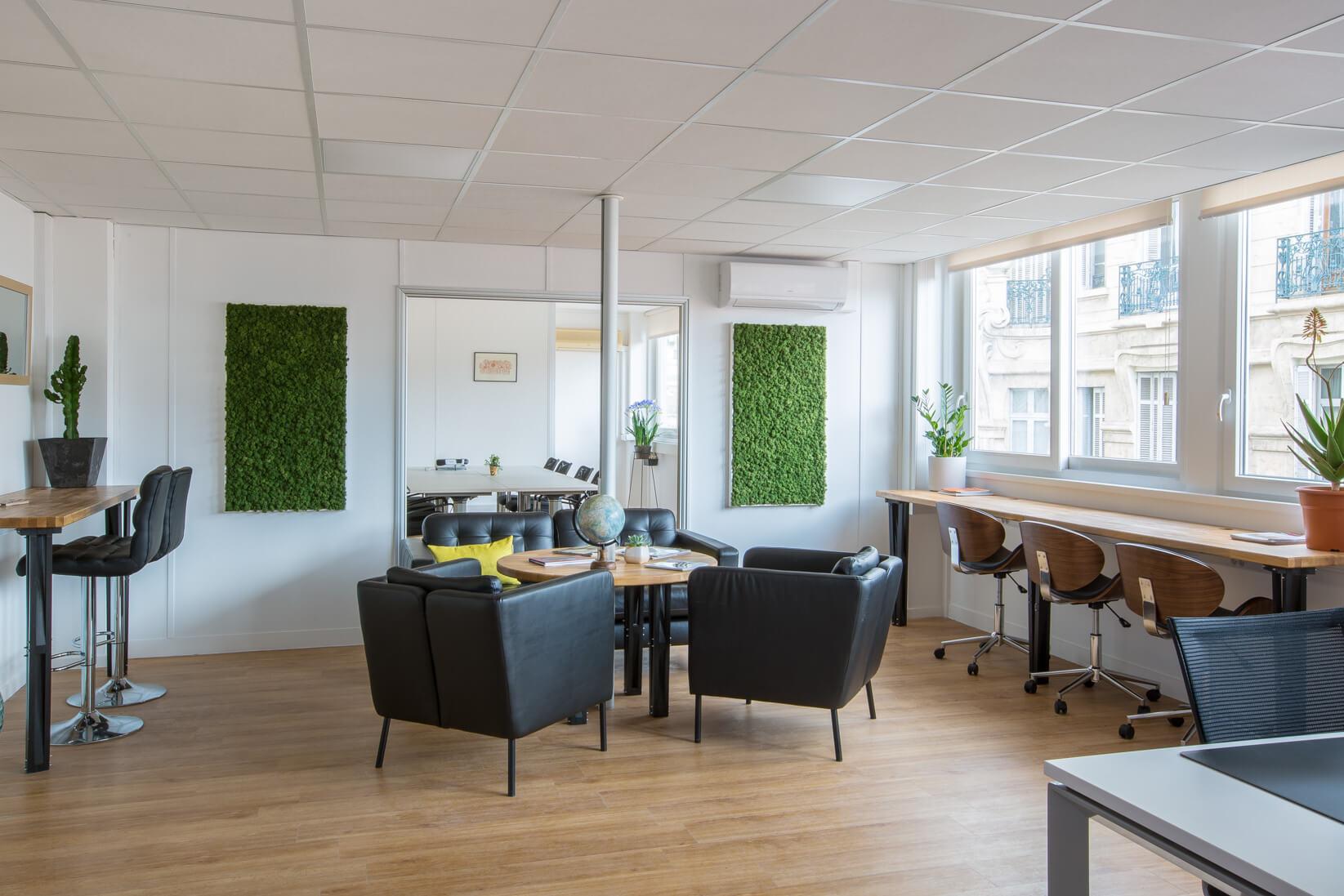 Espace de coworking à Marseille