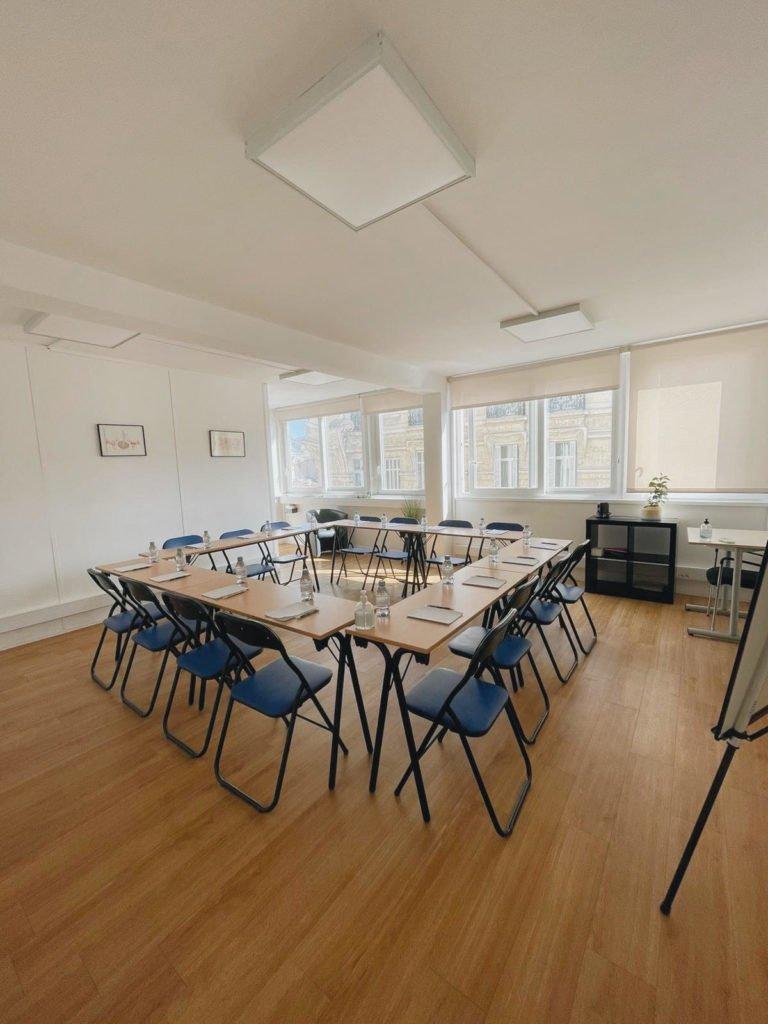 salle de réunion et de formation du Centre Atlas à Marseille