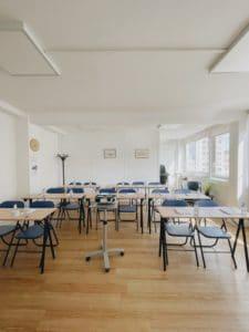salle de réunion et de formation du centre atlas Marseille